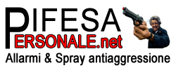Sale Items - Difendersi con gli allarmi ed i spray al pepe